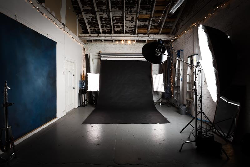 Asheville Photography Studio - Behind the Scenes - Taylor Clark Johnson