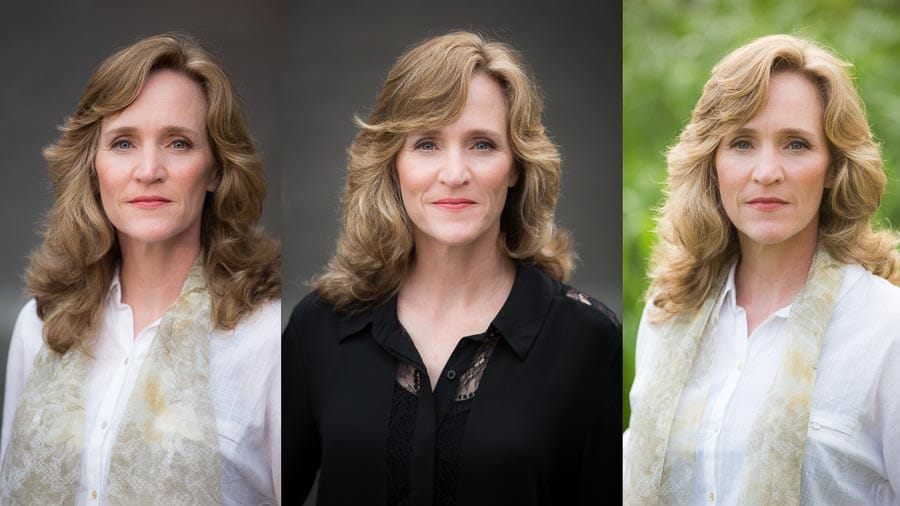 Outdoor head shot in asheville, head shot photographer