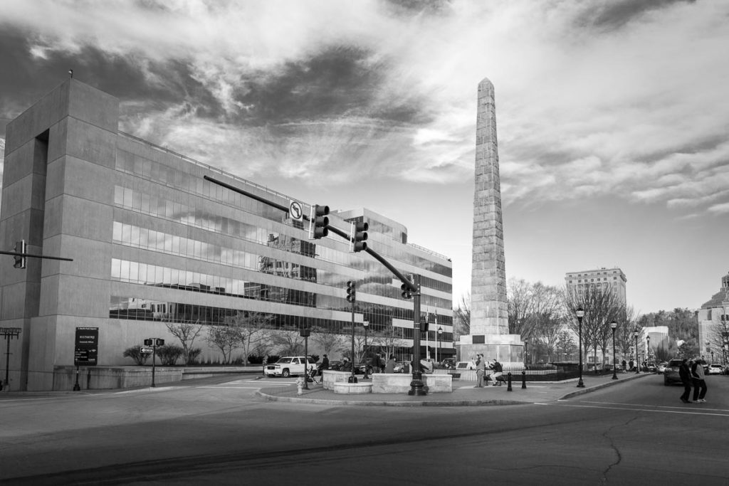 Downtown Asheville, Obelisk, Vance Monument , Asheville Commercial Photography