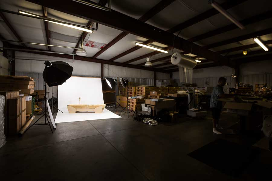 Product Photography in Asheville - Migun Bed - Charlotte Product Photography, Knoxville, Greenville, Johnson City, Atlanta, Greensboro, Winston Salem, Salisbury