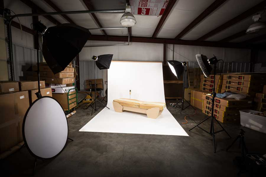Product Photography in Asheville - Migun Bed - Charlotte Product Photography, Knoxville, Greenville, Johnson City, Atlanta, Greensboro, Winston Salem, Salisbury